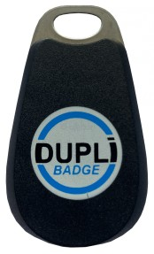 DUPLIBADGE Noir Badges